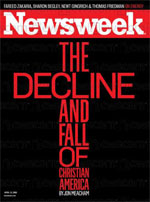 Newsweek got it wrong. Christianity is not dying in America, it's  just shifting into a higher gear.